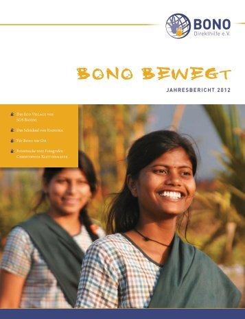 Jahresbericht 2012 ansehen - BONO Direkthilfe eV