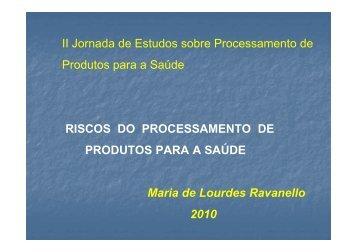 Maria de Lourdes Ravanello [Modo de Compatibilidade] - Sindihospa