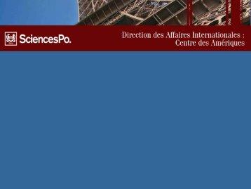 s informations utiles - Centre des Amériques - Sciences Po
