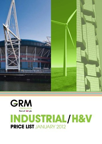 INDUSTRIAL/H&V - GRM Insulation Solutions