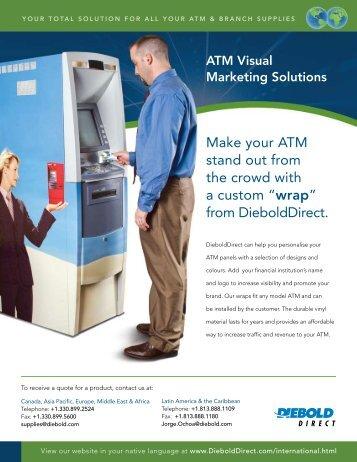ATM Visual Marketing Solutions - DieboldDirect