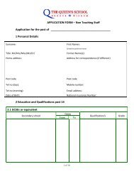 APPLICATION FORM – Non Teaching Staff Application for the post ...