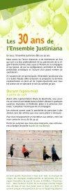 Les Ateliers Quichotte - Ensemble Justiniana - Page 6