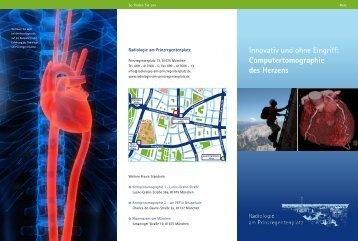 Innovativ und ohne Eingriff: Computertomographie des Herzens
