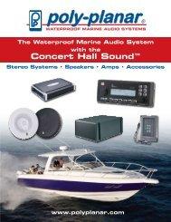 Concert Hall Sound™ - Poly-Planar