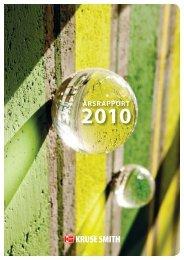 Årsberetning 2010 (last ned pdf) - Kruse Smith