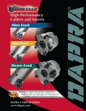 Dapra High-Feed Catalog - Dapra Corporation