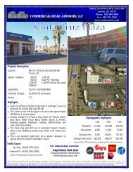 Santa Cruz Plaza - Commercial Retail Advisors, LLC.