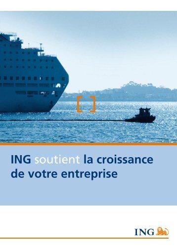 ING soutient la croissance de votre entreprise