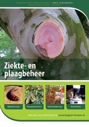 Ziekten en plagen - Nationale Bomenbank