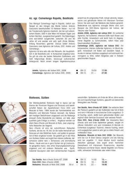 Rundbrief Februar 2010 - Cantina del Mulino