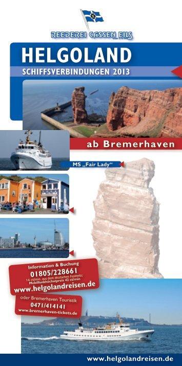 bremerhaven - helgoland - Reederei Cassen Eils