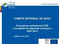 Examen des propositions de transferts entre axes - Fonds Social ...