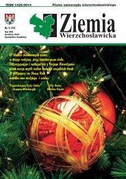 Ziemia Wierzchosławicka - nr 3(73) - grudzień 2010 - plik PDF