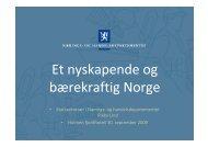 Et nyskapende og bærekraftig Norge - Innomed