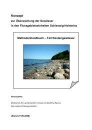 Methodenhandbuch – Teil Küstengewässer Gewässertypen