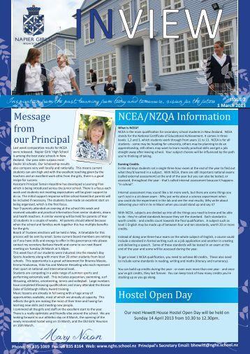Mary Nixon - Napier Girls' High School