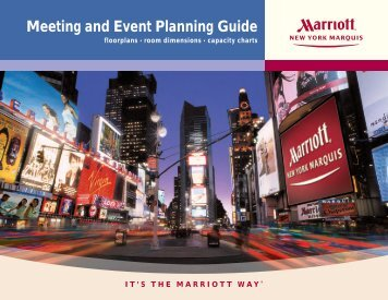 to print - New York Marriott Marquis