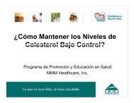 ¿Cómo Mantener los Niveles de Colesterol Bajo Control? - MMM
