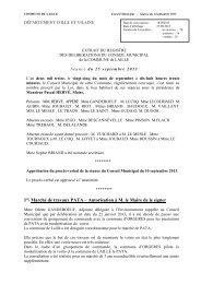COMPTE RENDU AFFICHAGE 25 SEPTEMBRE 2013 - Laillé