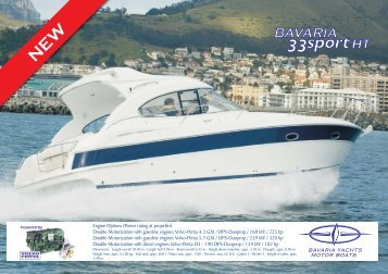 PDF Brochure (±1000KB) - Bavaria Boats: HOME