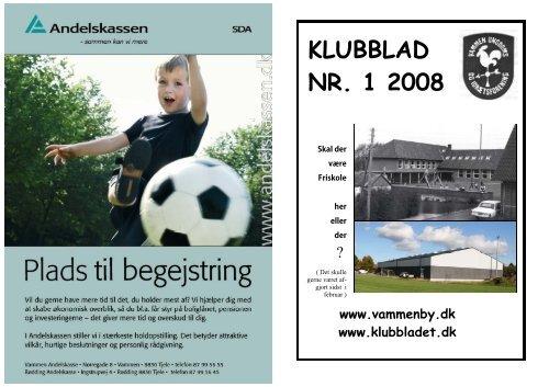 Klubbladet 2008 nr1 - Vammen