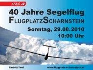 ScharnsteinGrünautext_40Jahre Kopie - Flugplatz Scharnstein