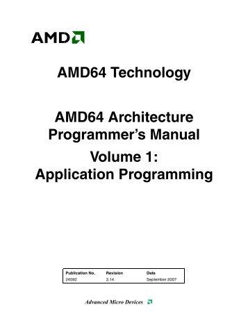AMD Vol 1