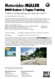 Anmeldung verbindlich für 17_09_11 - BMW Motorrad