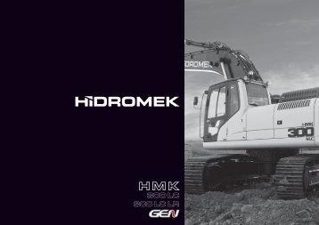 300 LC Gen de la serie - Hidromek