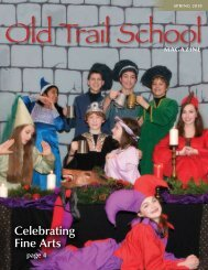Celebrating Fine Arts - Old Trail School