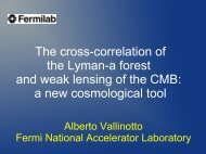 Cosmological applications of the cross correlation of Lyman-a forest ...
