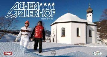 Hotel Achentalerhof am Achensee - Winterprospekt 2015-16