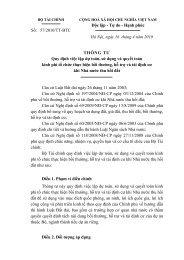 Thông tư 57 về bồi thường tái định cư 16-04-2010 - Bất động sản ...