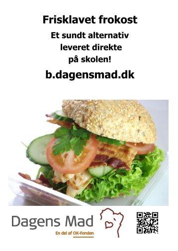 Frisklavet frokost b.dagensmad.dk - Sankt Annæ Gymnasium