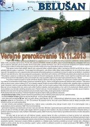 Belušan 10/2013 v elektronickej podobe (pdf)