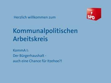 Was ist der KommA?! - SPD Itzehoe