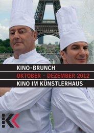 Kino-Brunch 10-12´12 - Presseserver der Landeshauptstadt Hannover