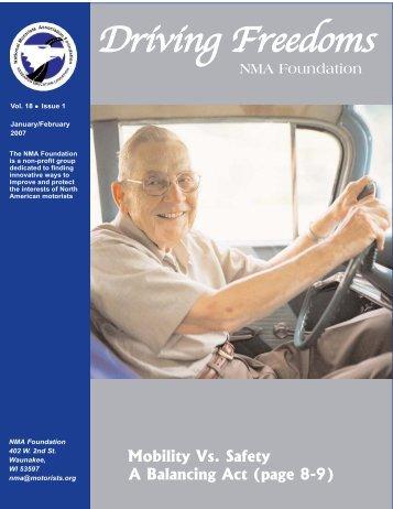 Driving Freedoms - National Motorists Association
