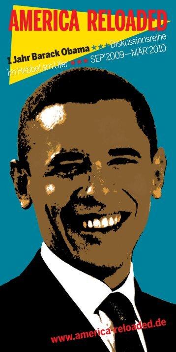 """Postkarte: Veranstaltungsreihe """"America Reloaded"""""""