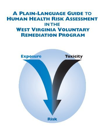 Risk Assessment Guide - West Virginia Department of ...