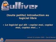 (toute petite) Introduction au logiciel libre - Linux-France