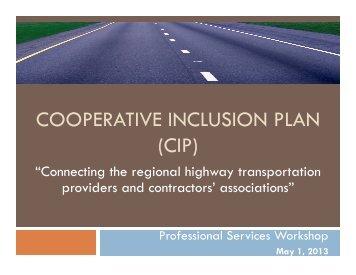 CIP Professional Services Workshop Presentation - Keep It Moving ...