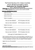Baptism Application - St James Church – Southam - Page 4