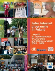 Safer Internet programme in Poland - 2005-2006 - Child Abuse and ...