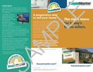 HouseMaster - Colour Tech Marketing Inc.