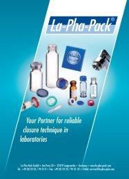 Your Partner for reliable closure technique in laboratories - Polygen