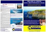 IRELAND & LONDON WITH A MEDITERRANEAN CRUISE ...