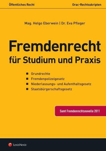 Fremdenrecht für Studium und Praxis - LexisNexis ARD Orac