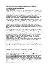 Bericht des UNHCR über Rückkehr und ... - The Unwanted